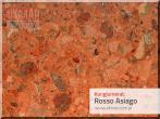 Parapet wewnętrzny konglomerat Rosso Asiago