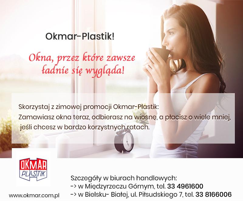Zimowa promocja okien w firmie OKMAR-PLASTIK sezon 2018/2019
